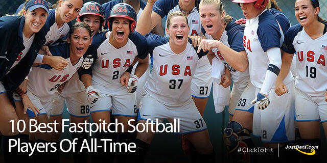 10 Best Fastpitch Softball Players Of All-Time