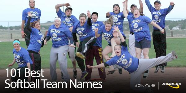 101 Best Softball Team Names - Blog