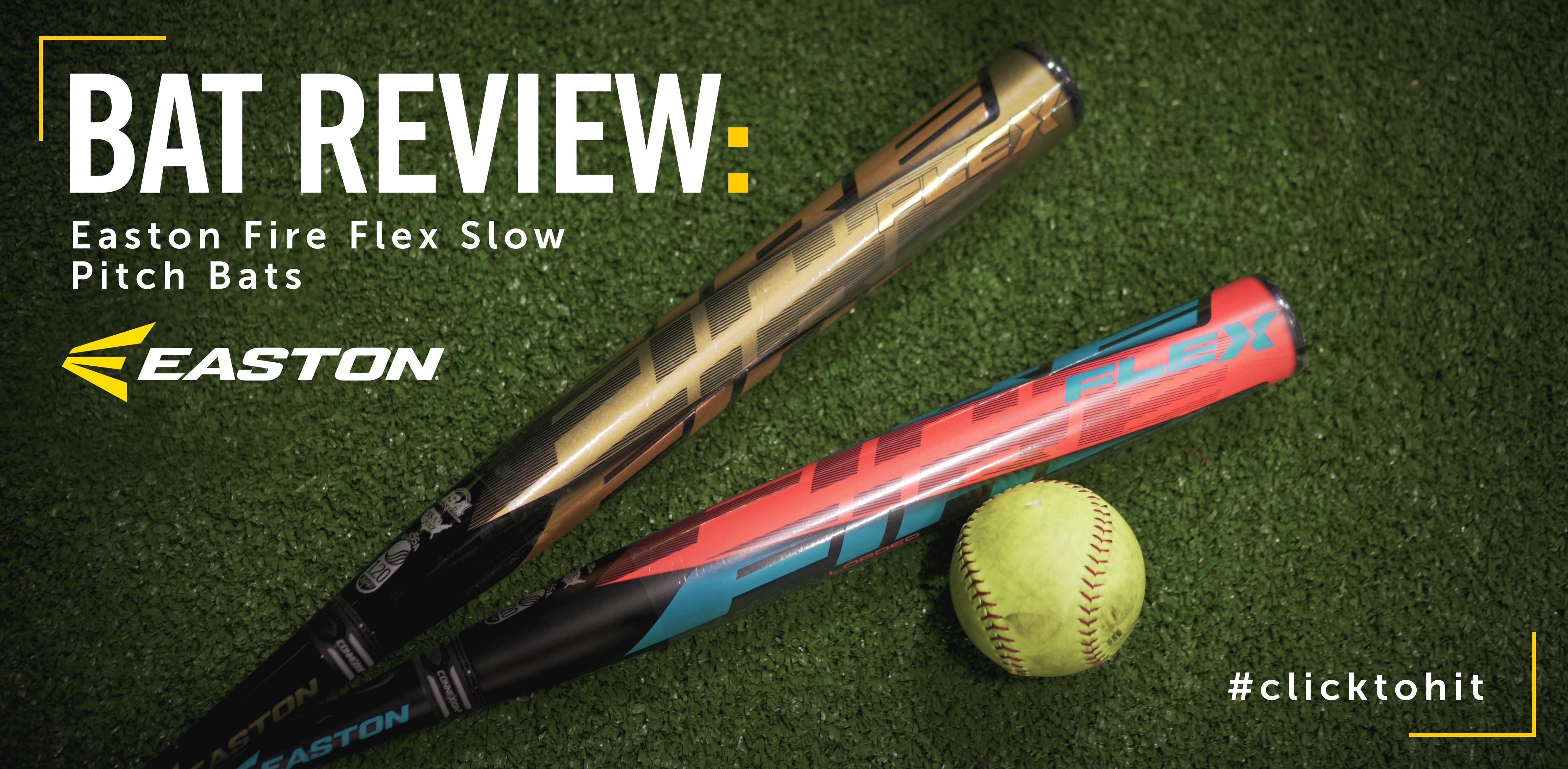 Easton Flex Slow Pitch Softball Bats Bat Review