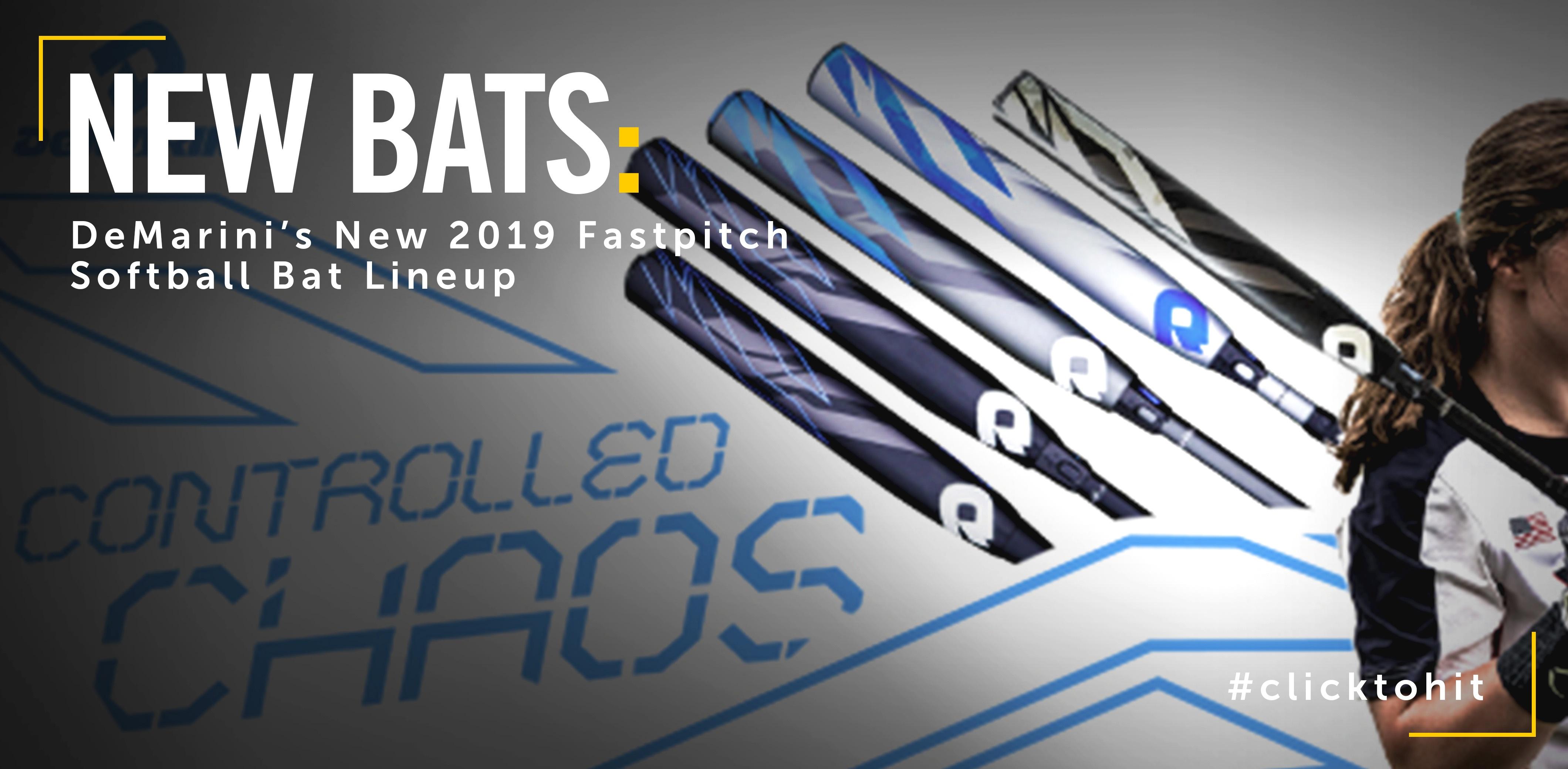 2019 DeMarini Fastpitch Bats