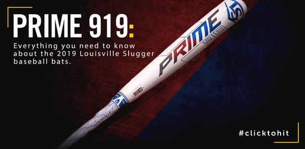 2019 Prime 919 Baseball Bats