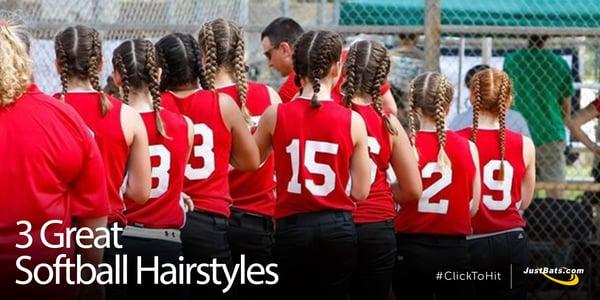 3 Great Softball Hairstyles - Blog
