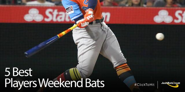 5 Best Players Weekend Bats