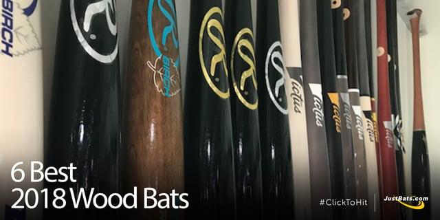 6 Best 2018 Wood Bats Blog Jpg