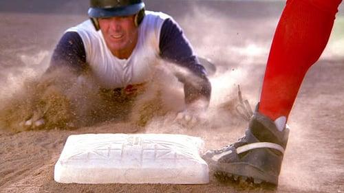 Scrappy Baseball Player