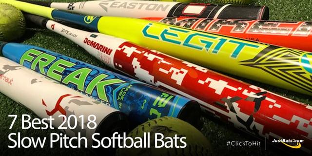 7 Best 2018 Slow Pitch Softball Bats