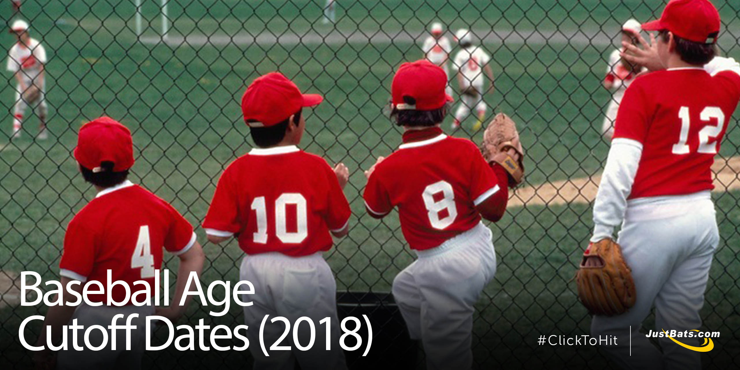 Baseball Age Cutoff Dates (2018)