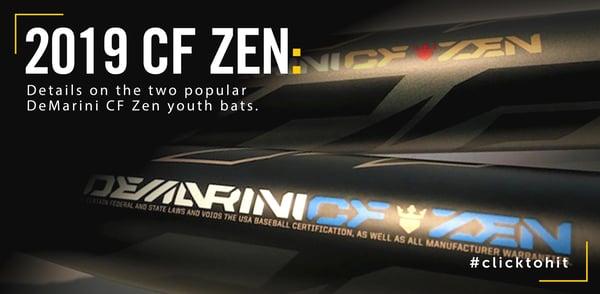 Bat Review 2019 DeMarini CF Zen youth bats