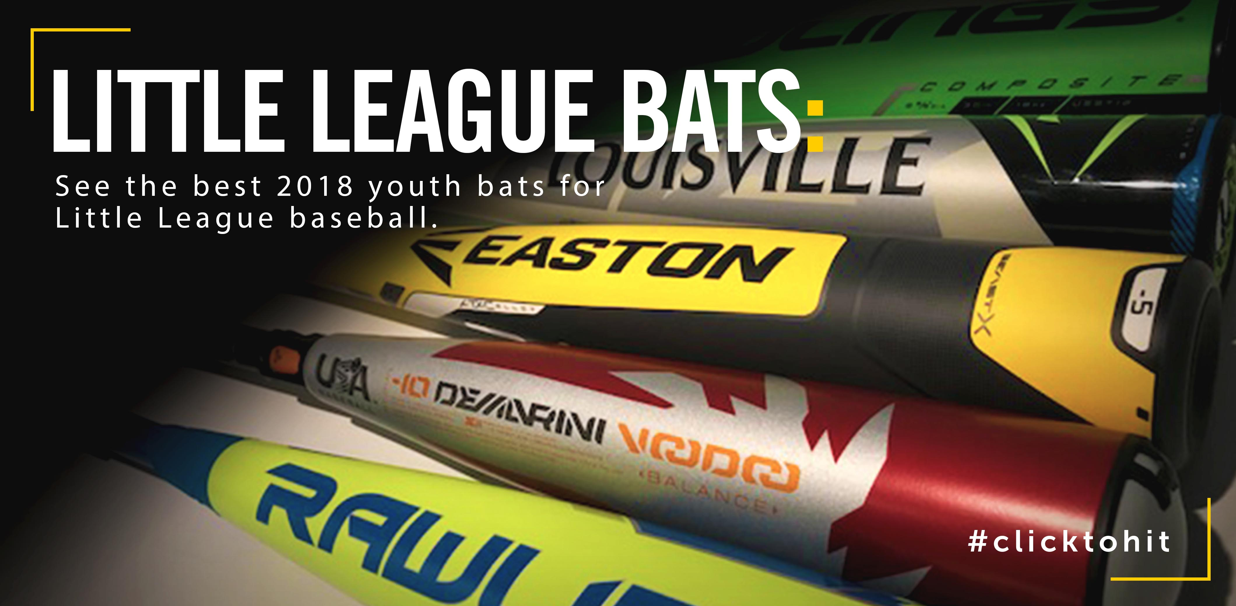 Best 2018 Little League Bats