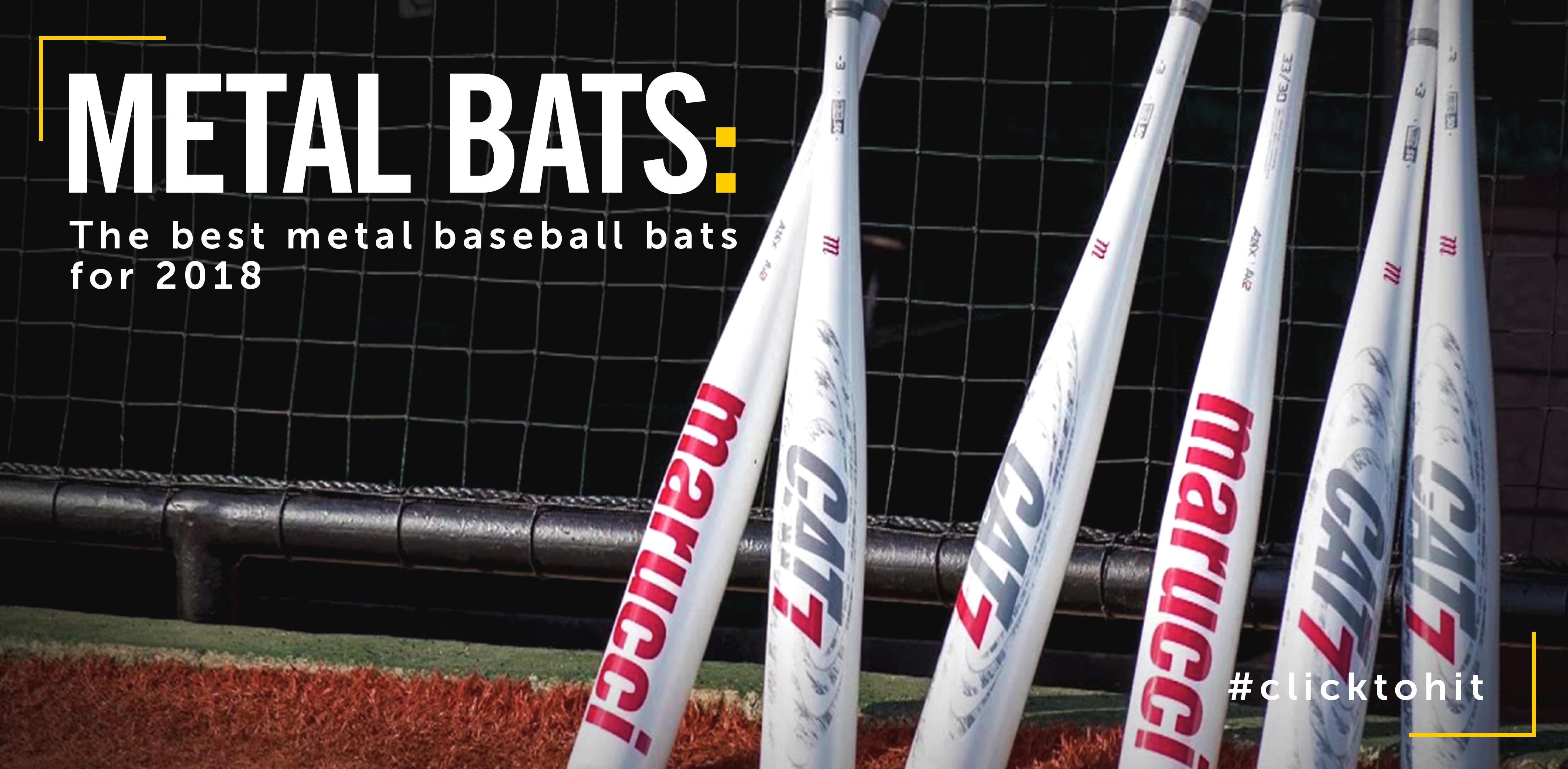 Best Metal Baseball Bats