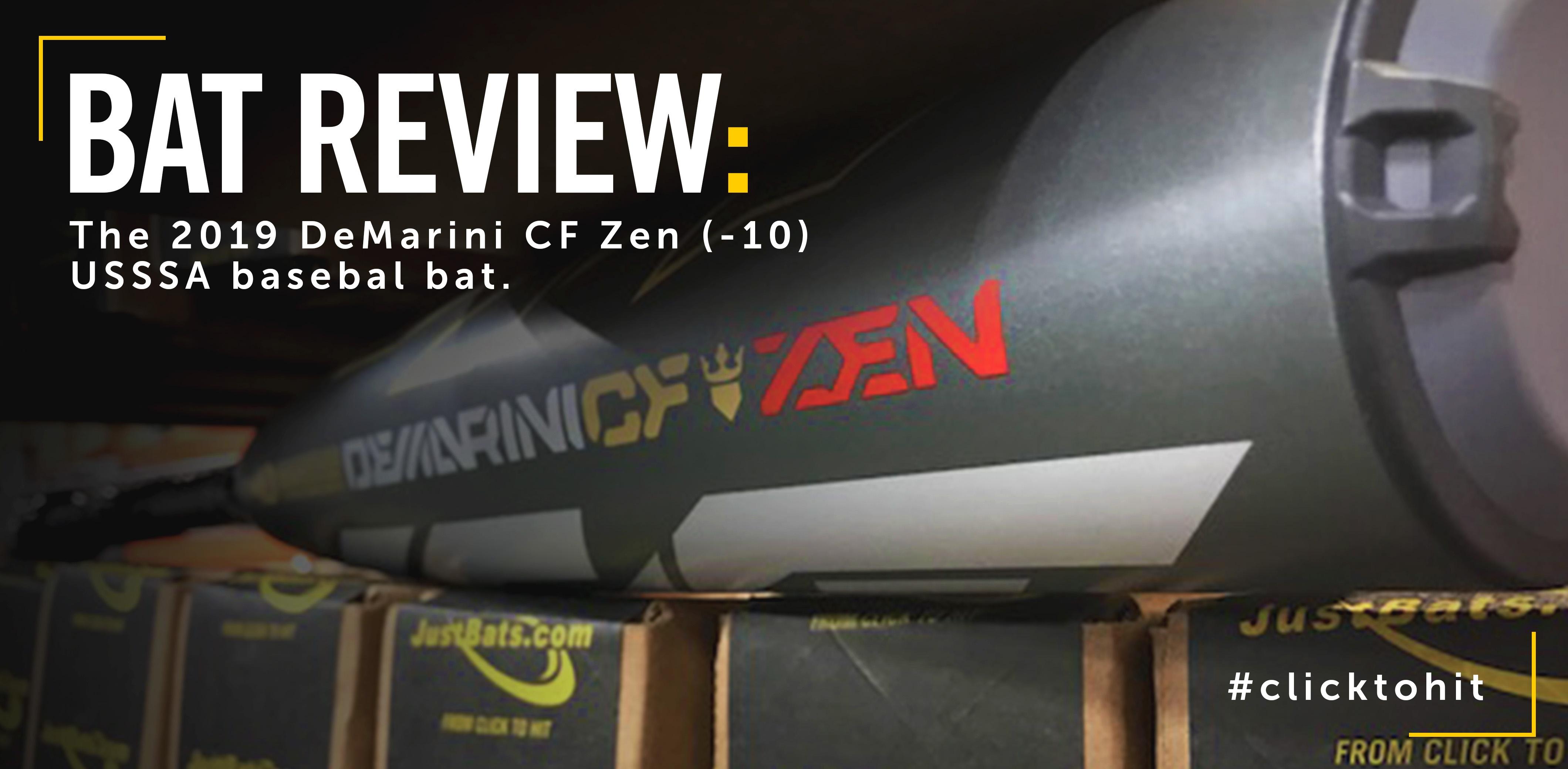 DeMarini CF Zen -10 Bat Review