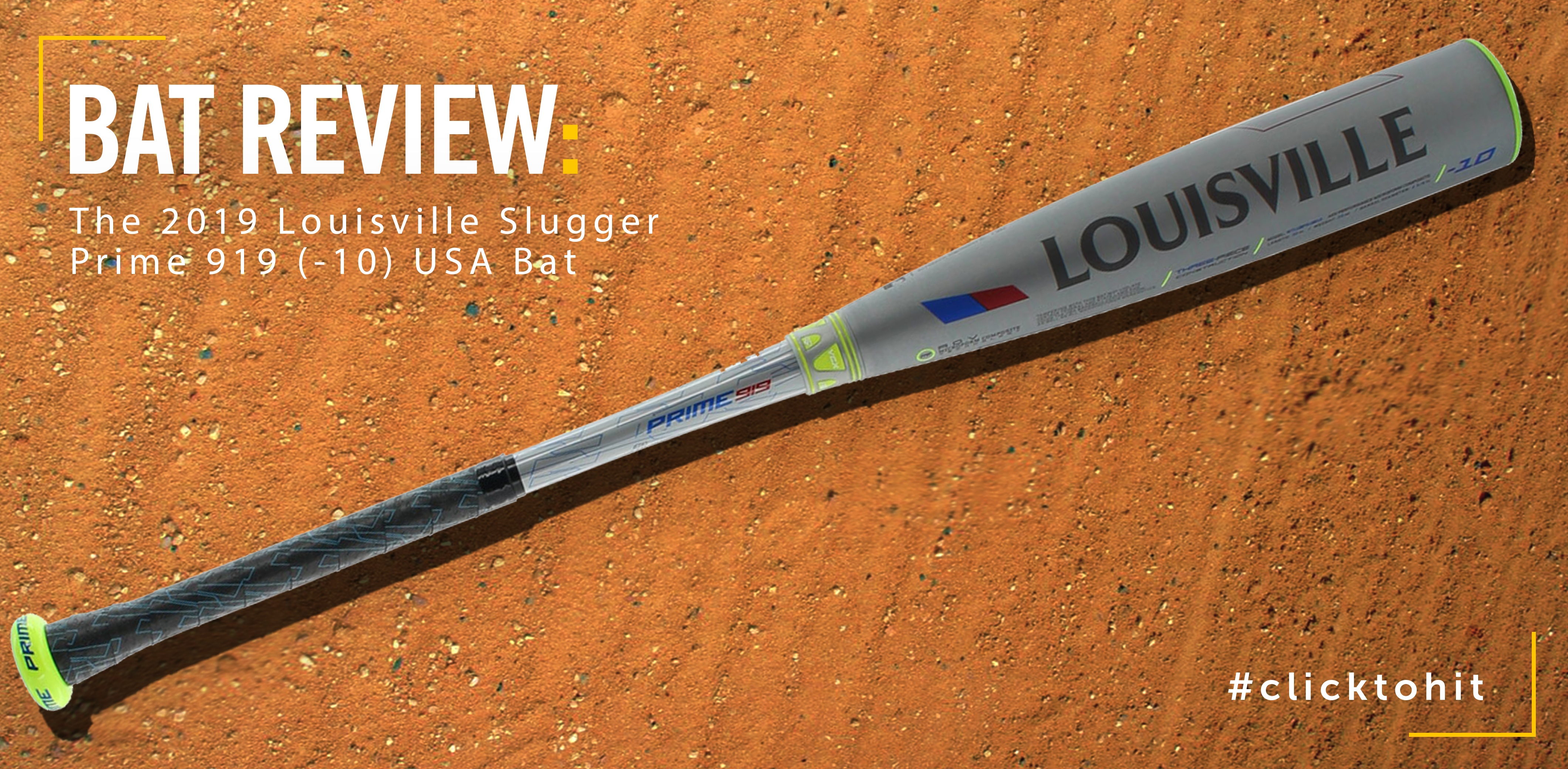 Louisville Slugger Prime 919 USA Bat