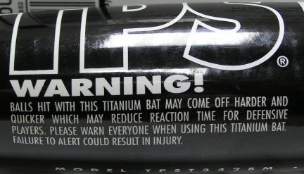 Titanium Warning