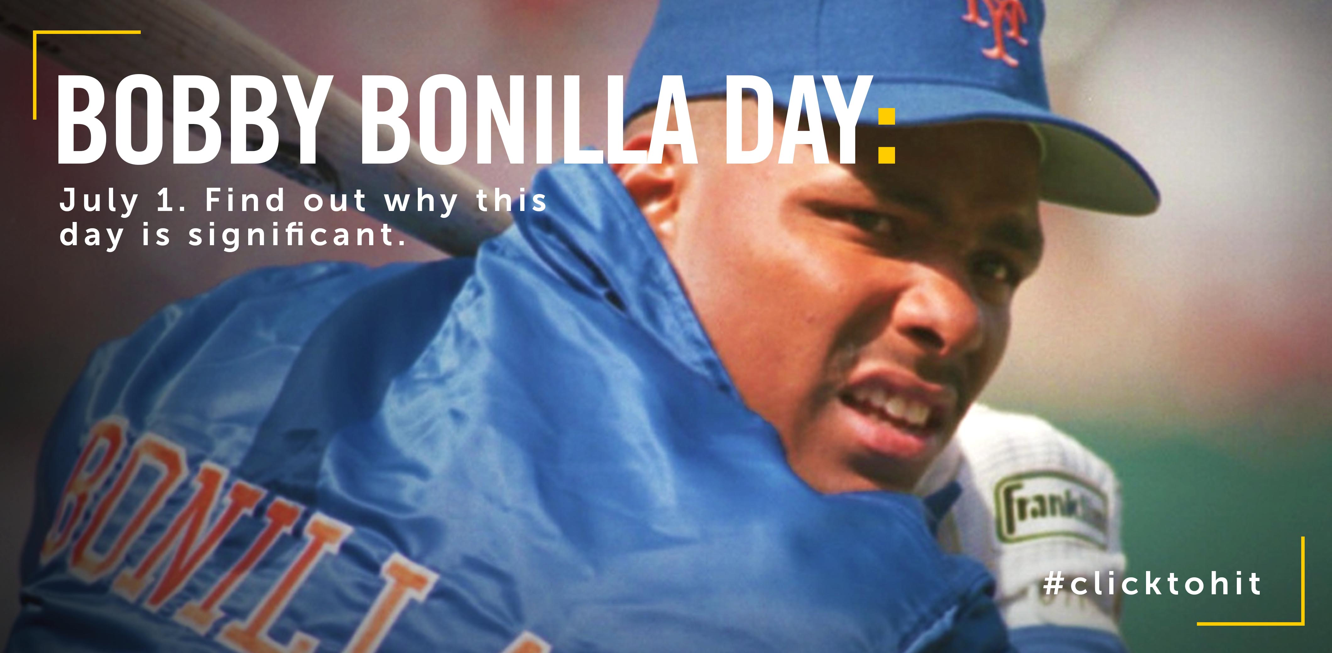 What is Bobby Bonilla Day