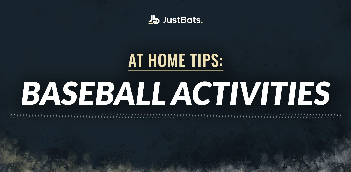 at home tips baseball activites