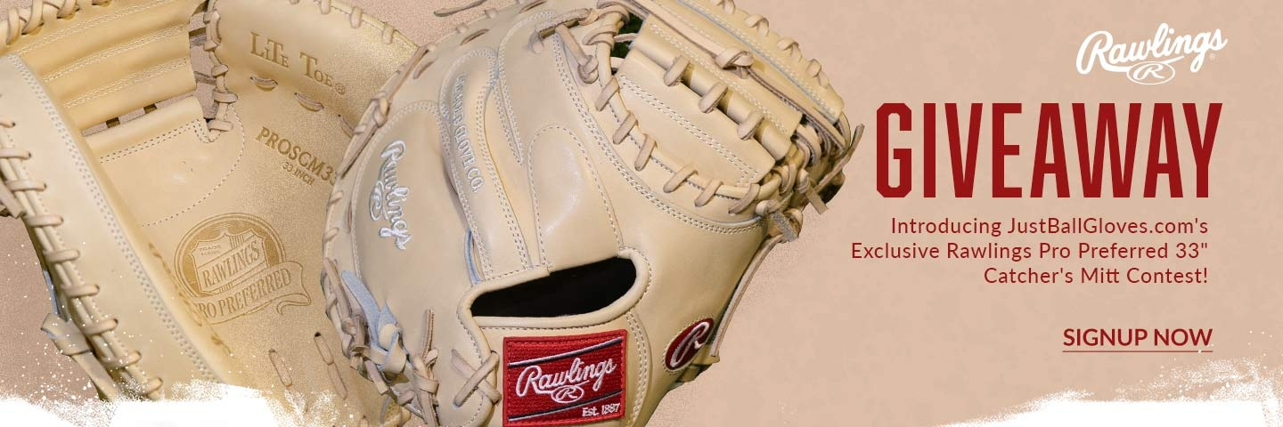 Signup to win an exclusive Rawlings Pro Preferred Glove