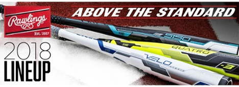 2018 Rawlings Bat Lineup on JustBats.com