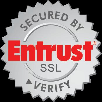 Secured by Entrust SSL