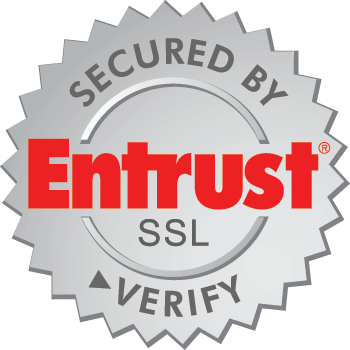 Secured by Entrust SSL